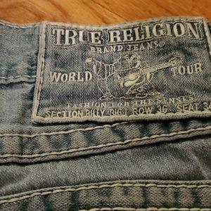 Mens true religion jeans authentic size 36
